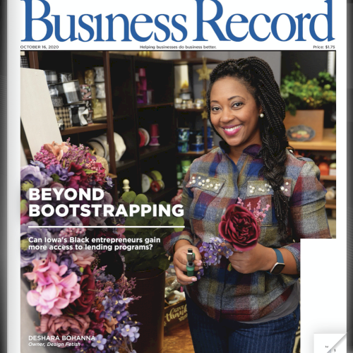 BUSINESS RECORD / Beyond bootstrapping: Can Iowa's Black entrepreneurs gain more access to lending programs?